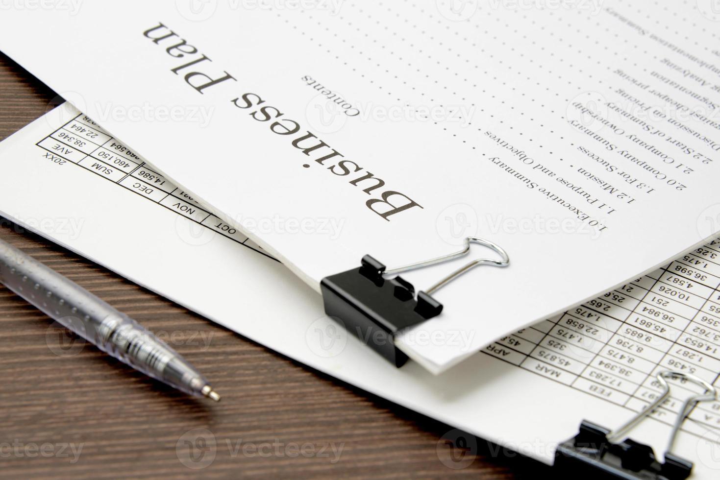 Business document photo