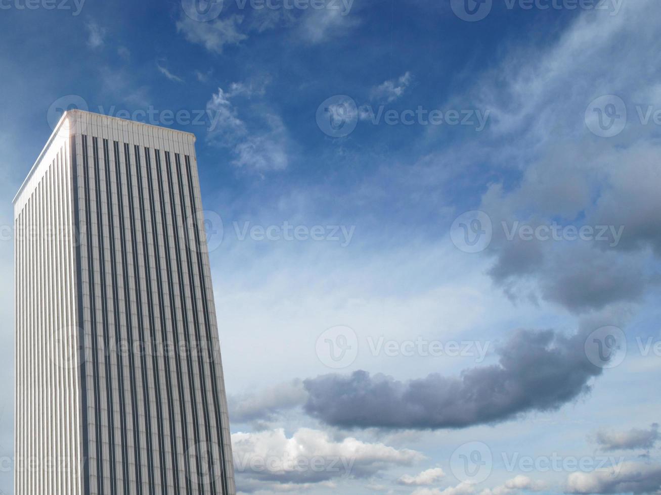 Solitaire skyscrapers photo
