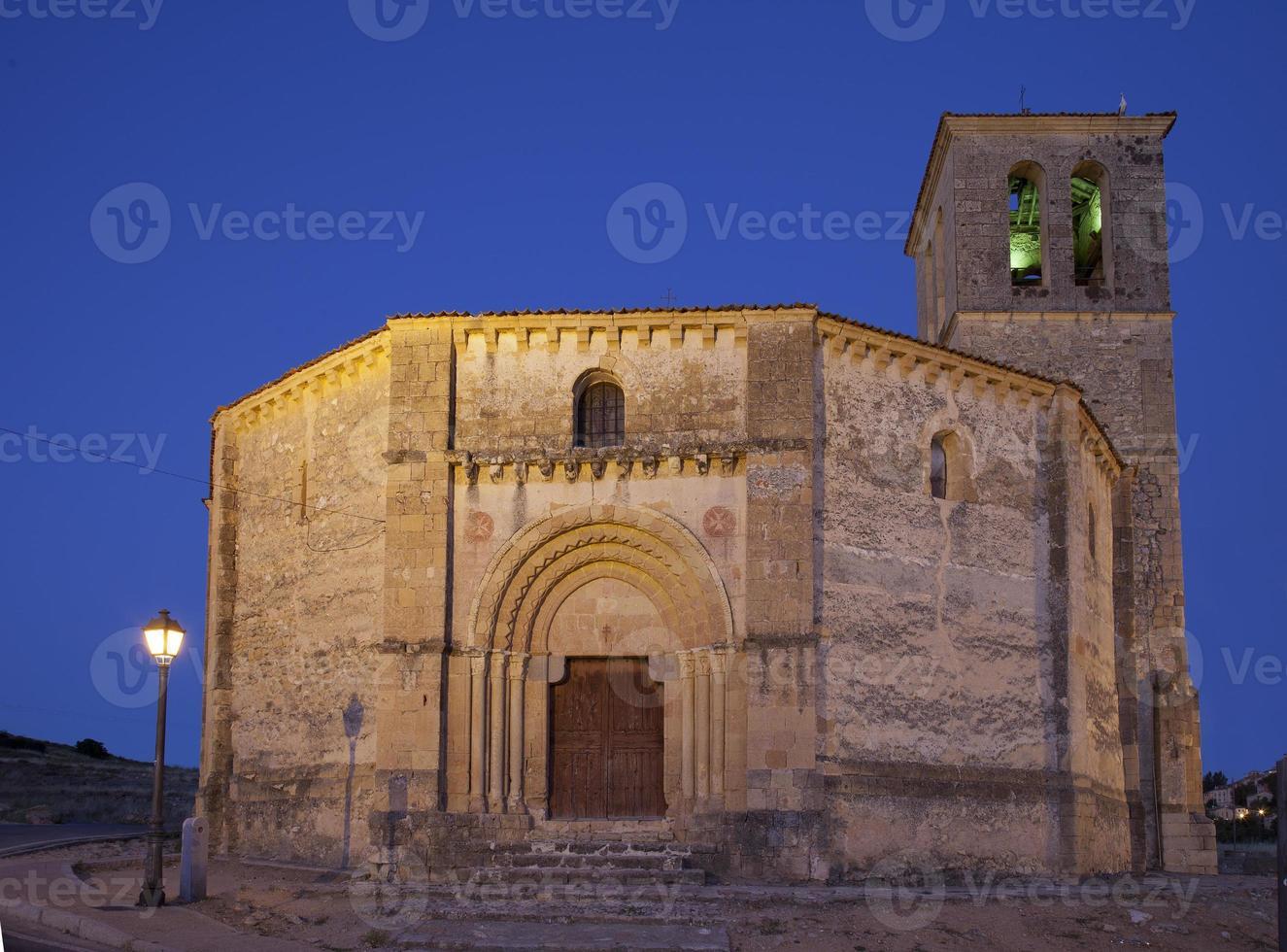 """Iglesia templaria de la cruz verdadera """"vera cruz"""" (segovia, españa) foto"""