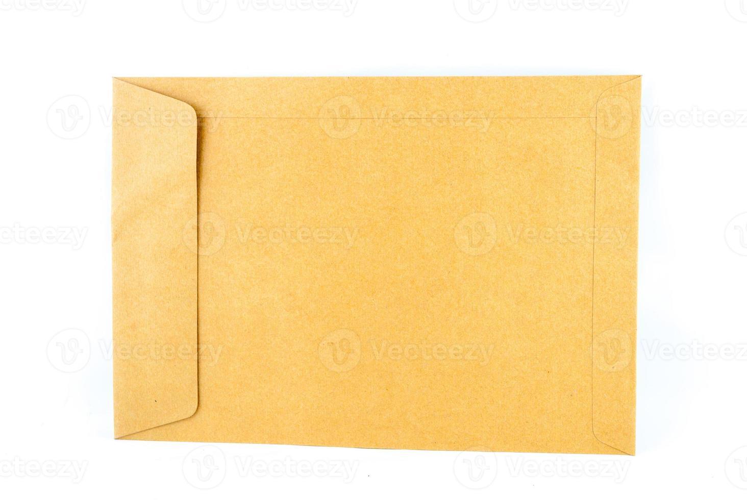 Brown envelope document photo