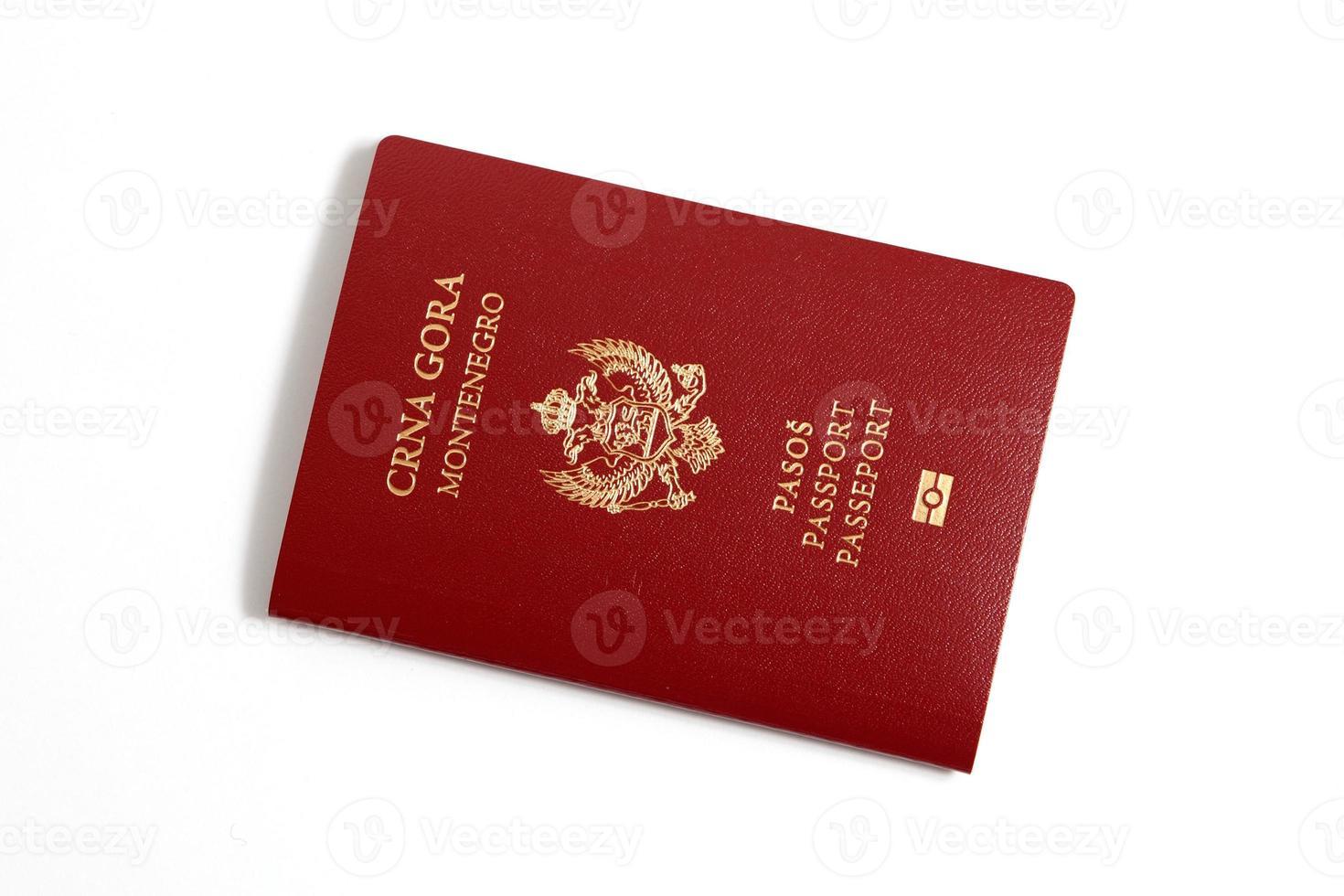 Passport - Montenegro photo
