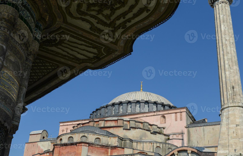 Santa Sofía en Estambul, Turquía foto