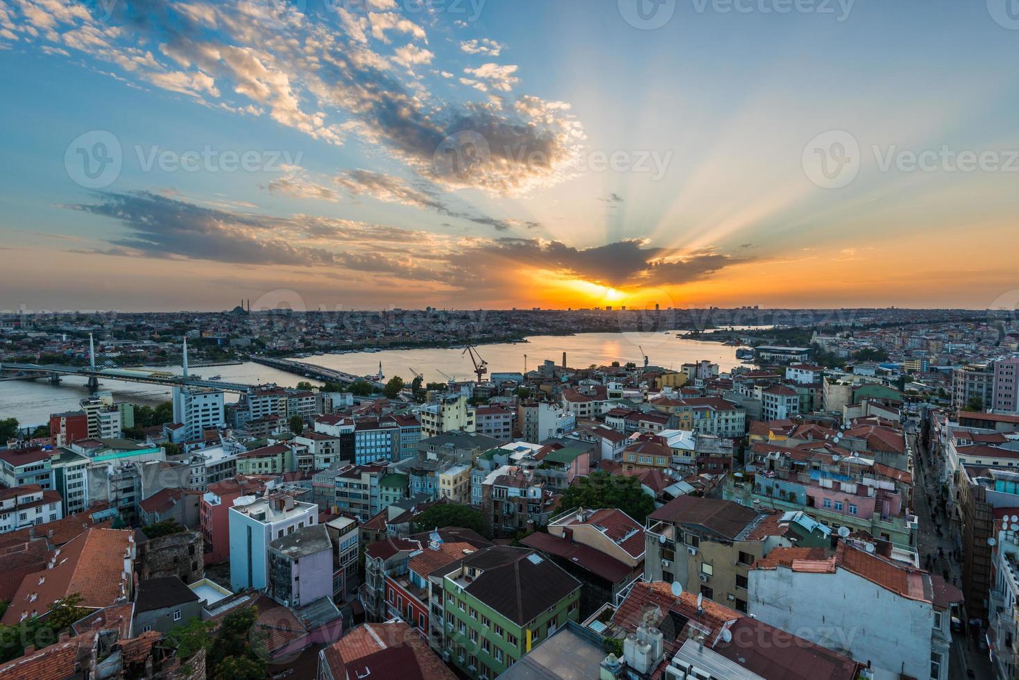 Istanbul Sunset photo