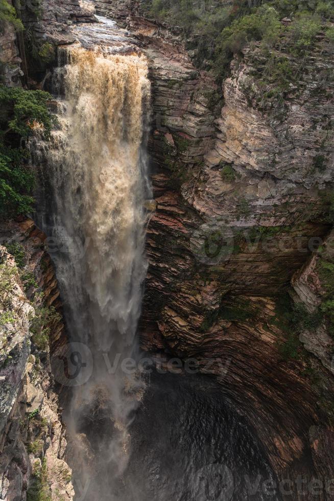 Buracão Waterfall photo