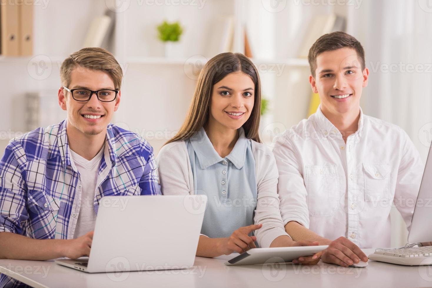 Programmer team photo