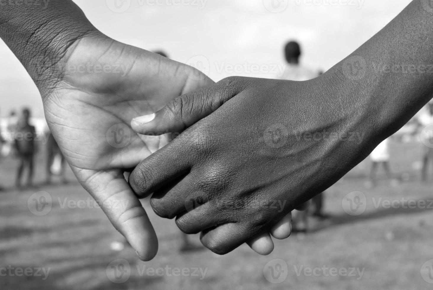handen bij elkaar foto