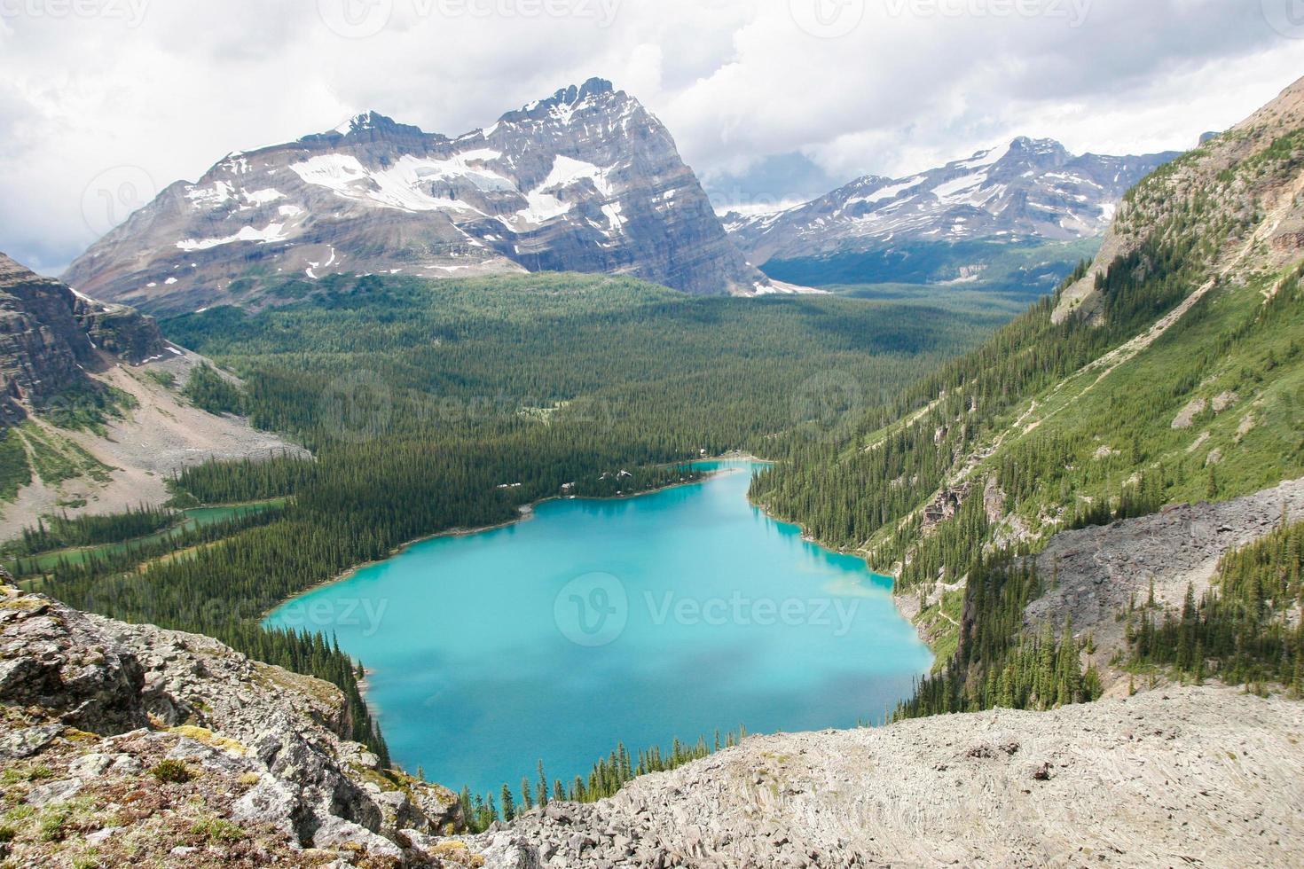 montanhas rochosas canadenses foto