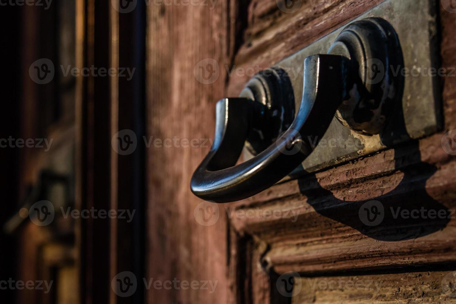 Ottoman Style Turkish House Door photo