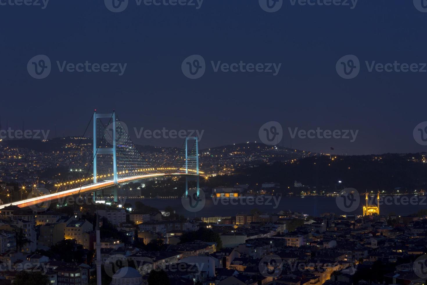 puente del Bósforo (boğaziçi köprüsü) foto