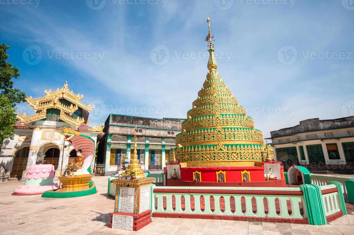 myanmar temple photo