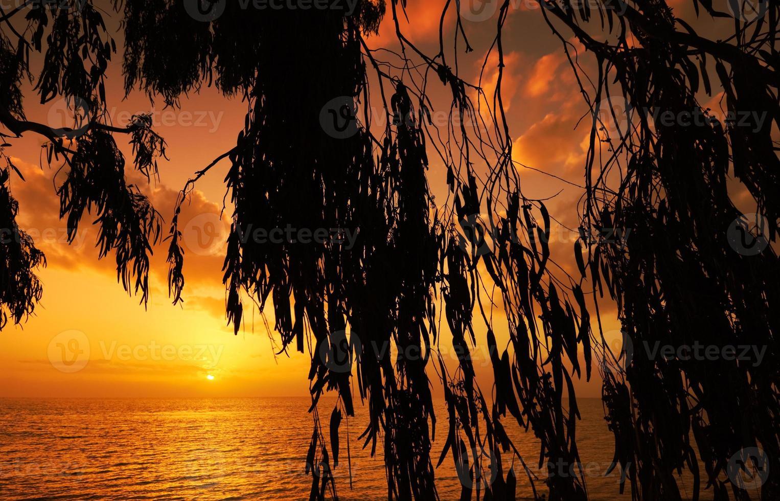 Mediterranean sunset photo