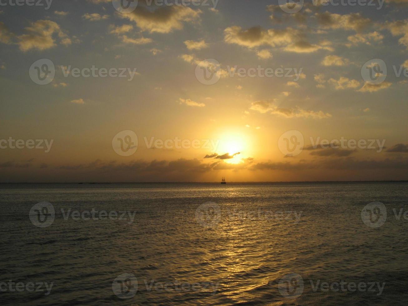 Mexico Sunset photo
