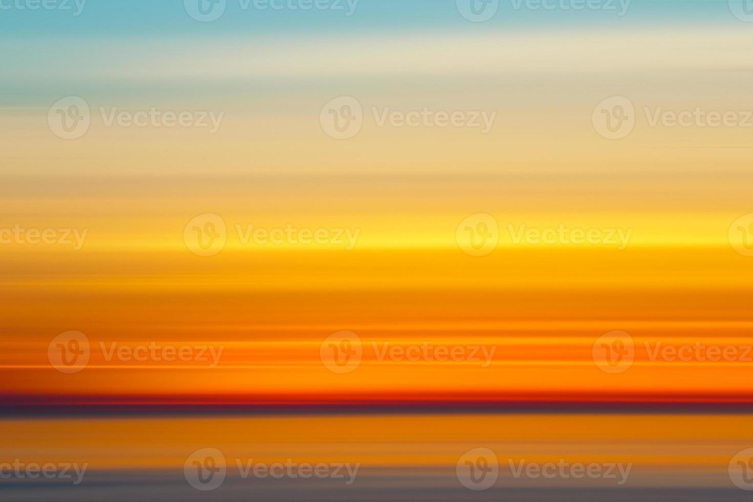 colores abstractos del atardecer, foto