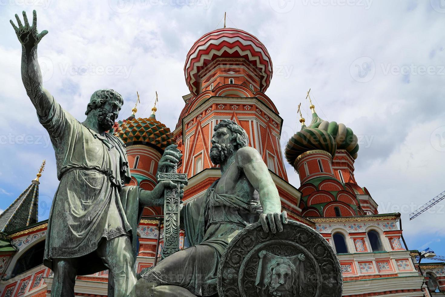 Moscow, Russia, Red Square, Temple of Basil the Blessed photo