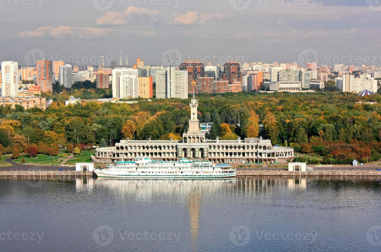 Autumn on the Moscow-river photo