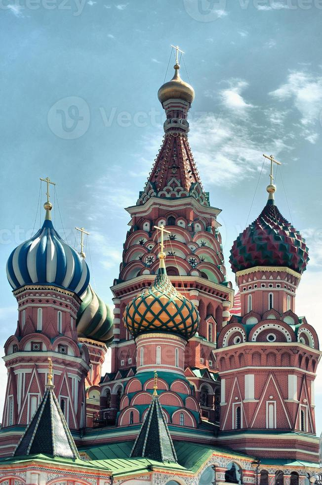 Saint Basil Cathedral at Red Square, Moscow Kremlin, Russia photo