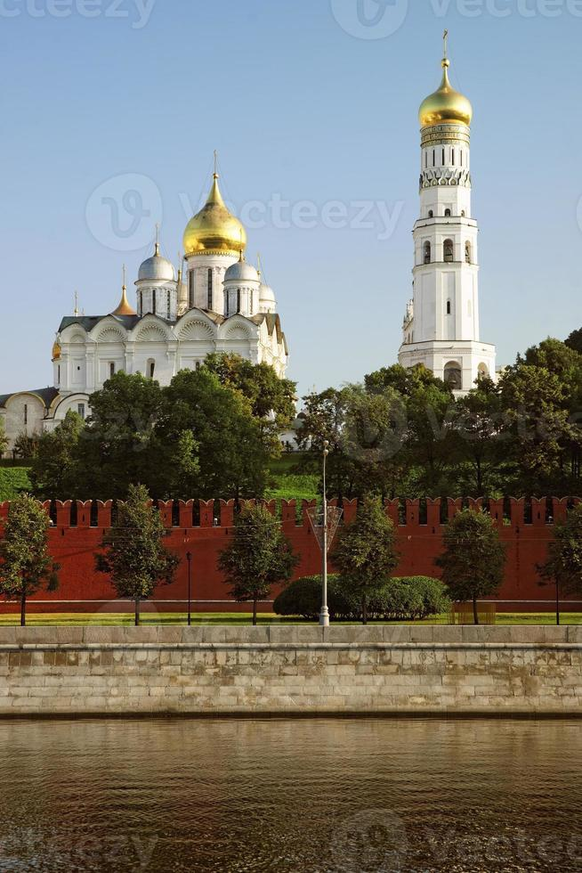 The bell tower and Archangel Cathedral photo