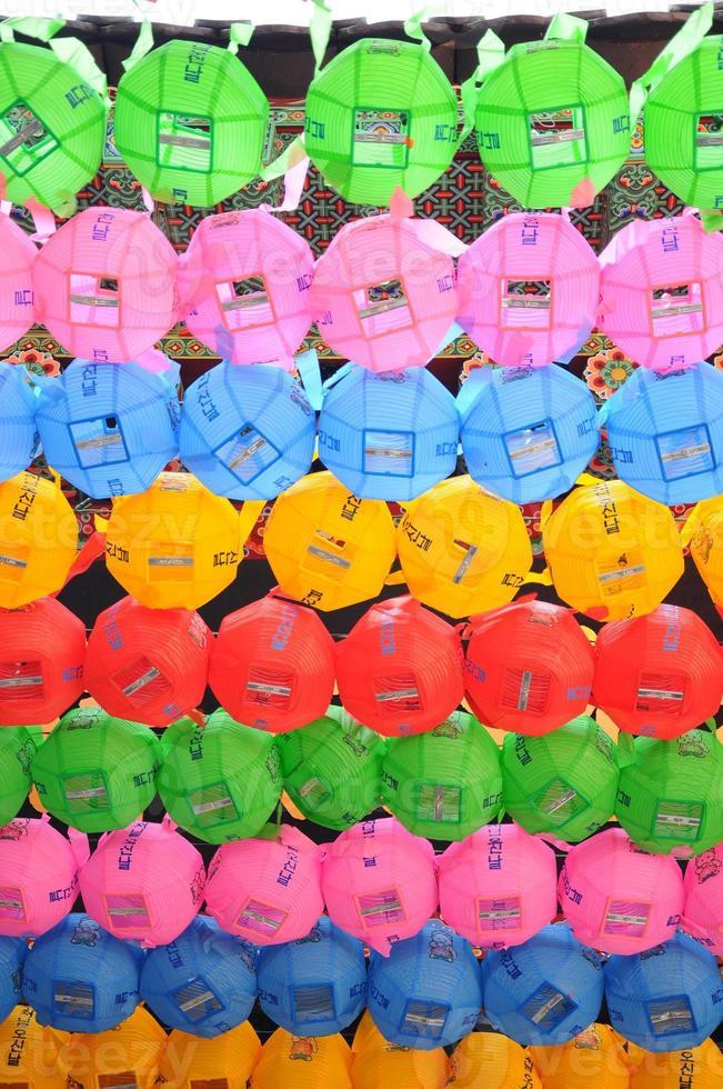 Korea lanterns photo