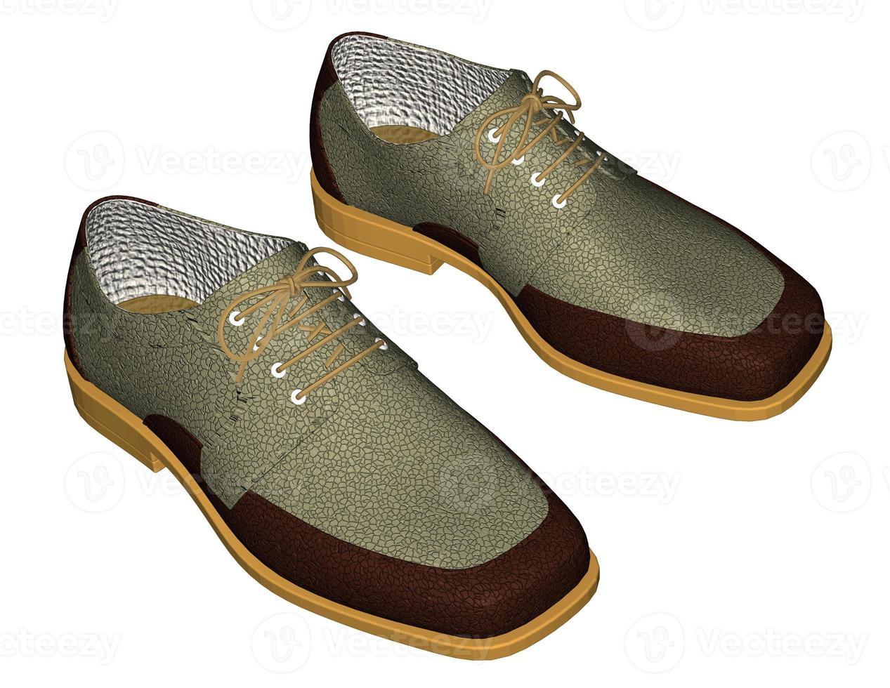 zapatos de hombre foto
