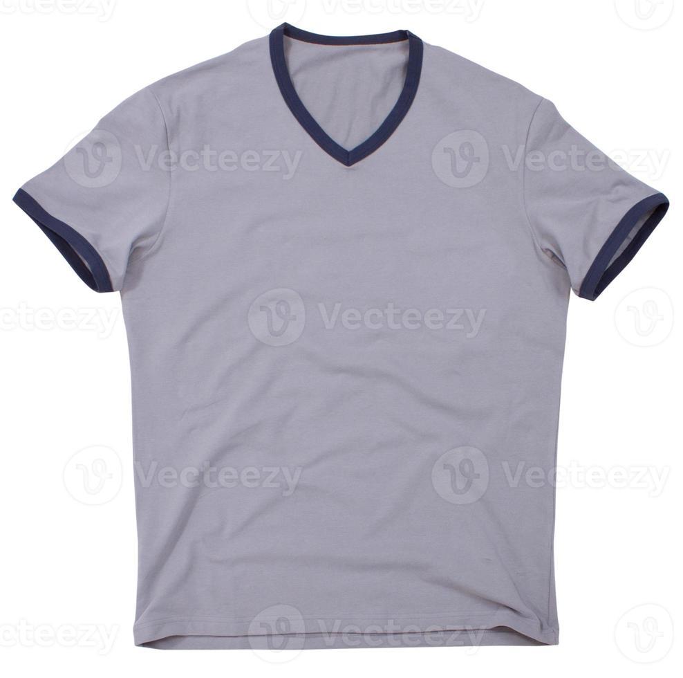 Men's t-shirt isolated on white background. photo