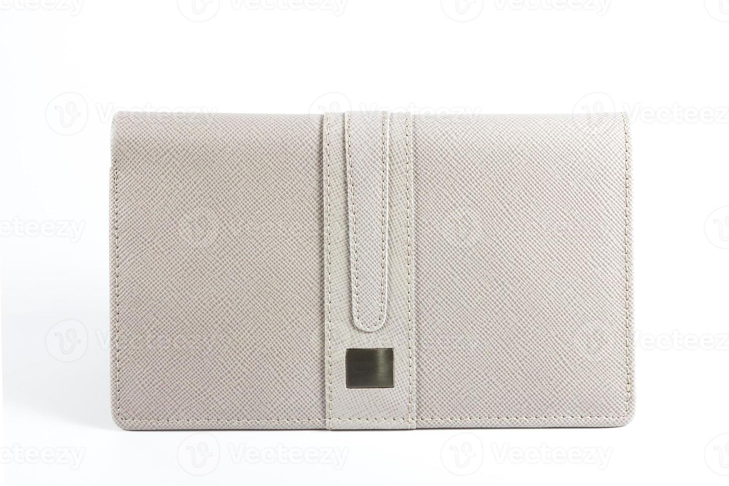 Female white purse photo