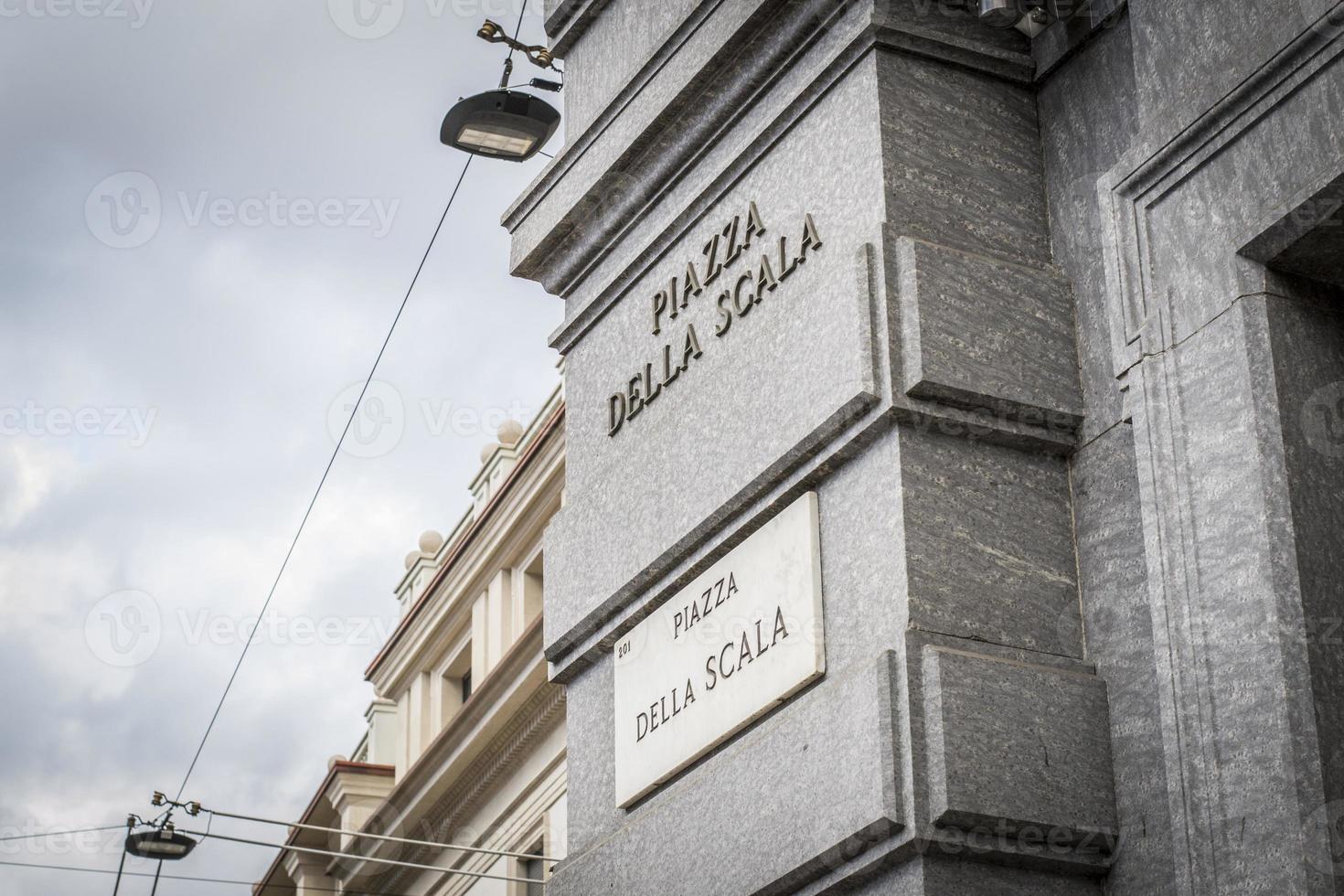 Piazza della Scala photo
