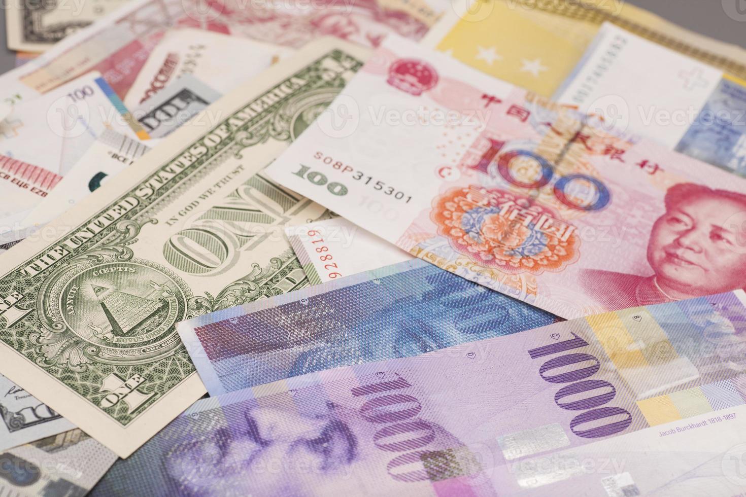 International currencies photo
