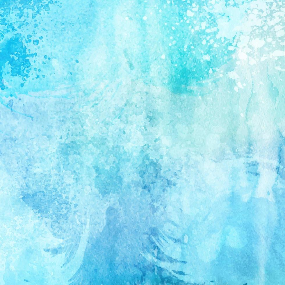 textura de acuarela azul vector