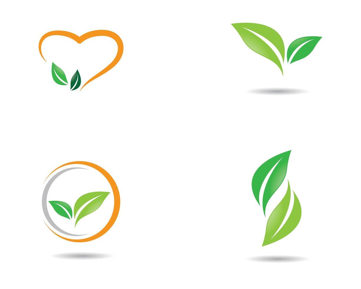 conjunto de iconos de ecología vector