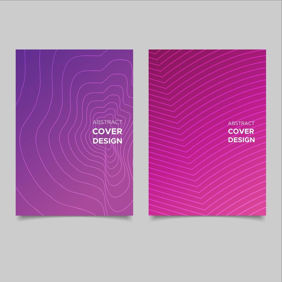 Fondo abstracto cubierta púrpura vector