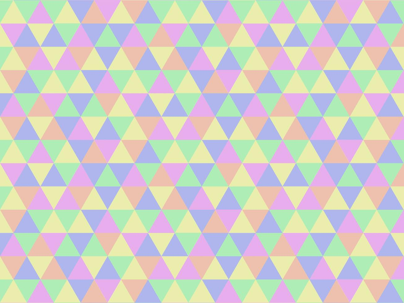 Abstract Pastel Colorful Geometric Triangle Pattern Background vector