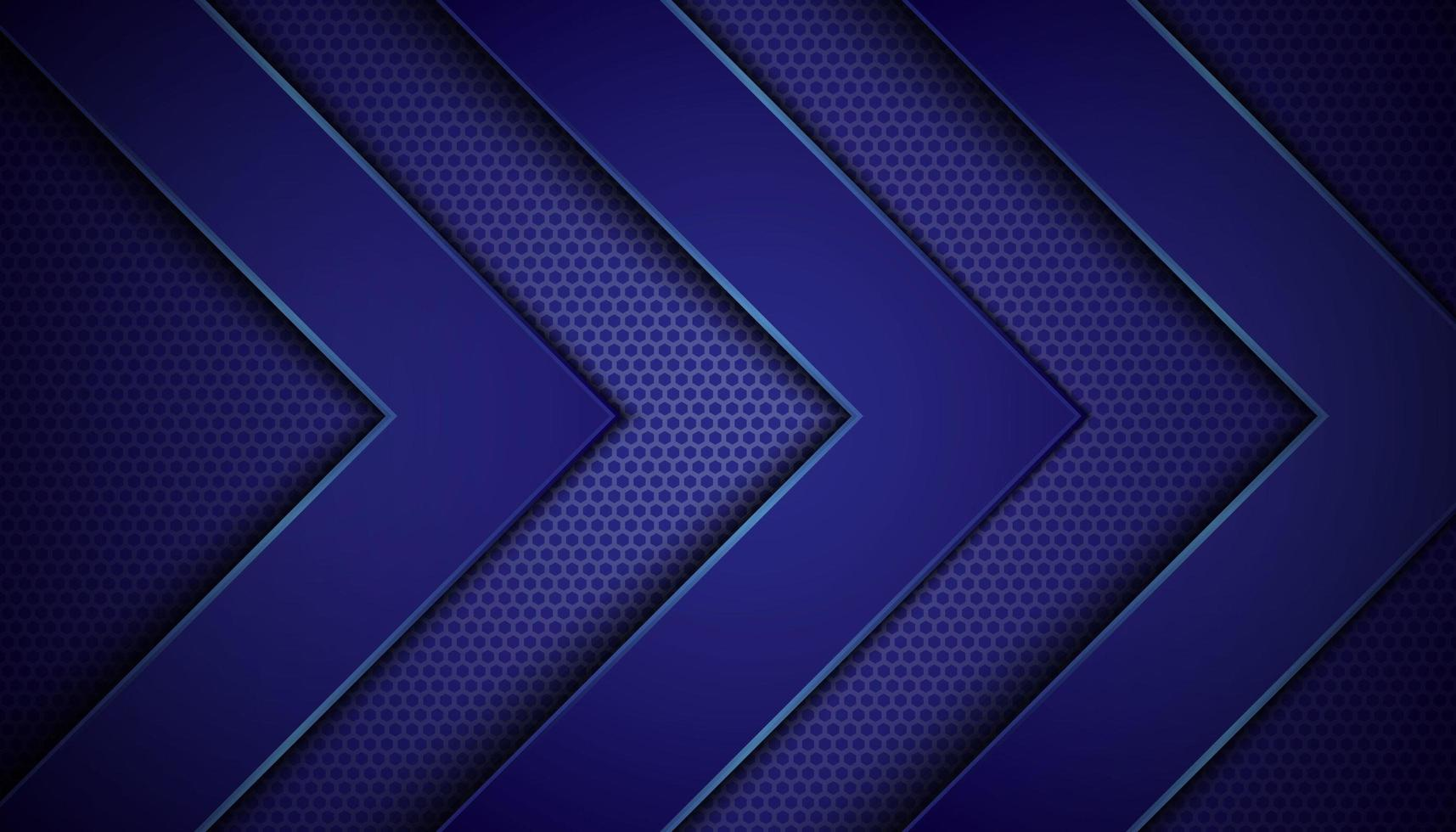 Dark Blue Background with Arrow Layers vector
