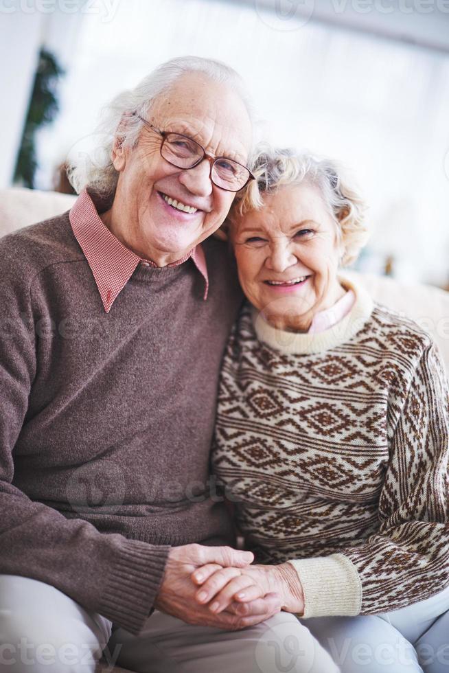 Ecstatic seniors photo