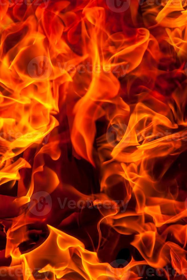 fondo de fuego foto