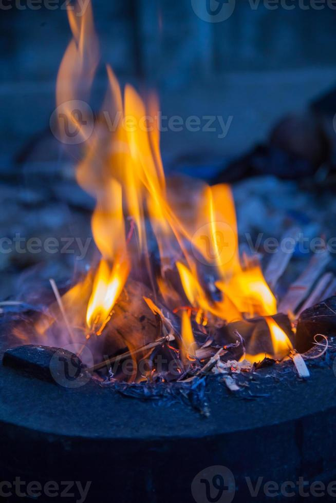 Fire flames photo