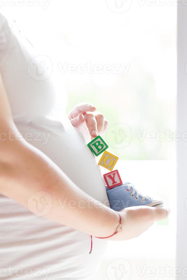 esperando bebé foto