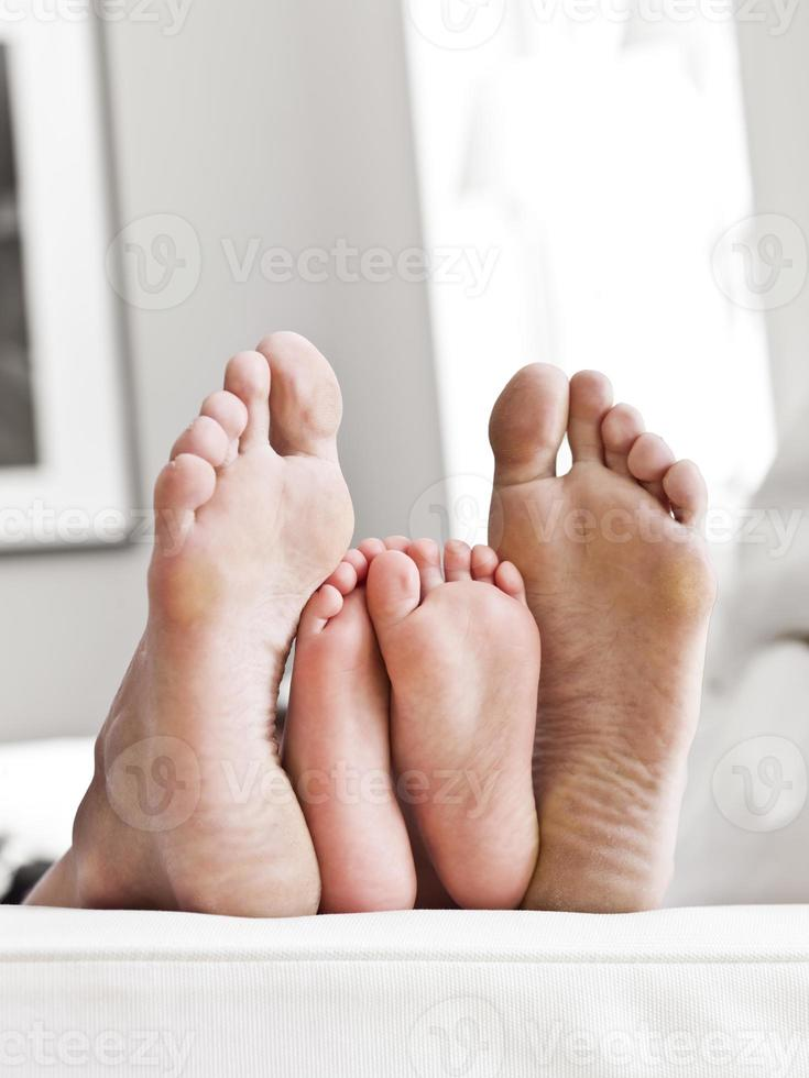 Soles of feets photo