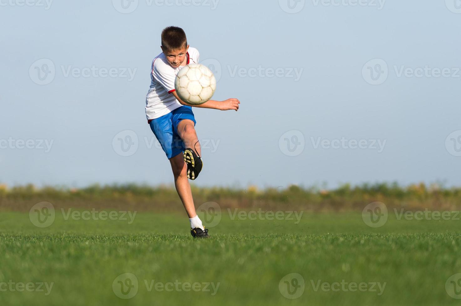 fútbol infantil foto