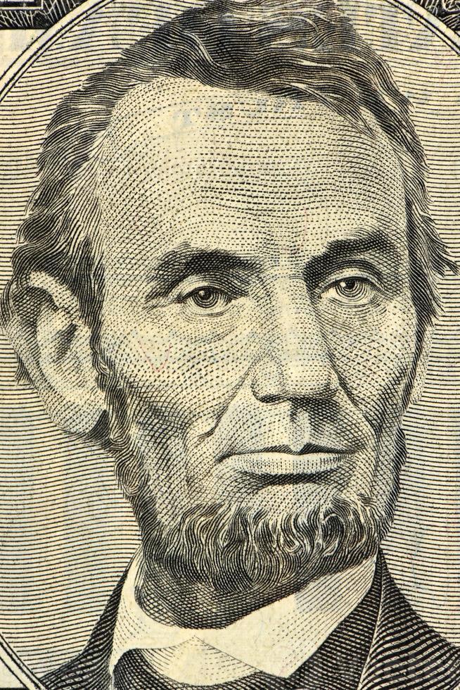 Five dollars banknote photo