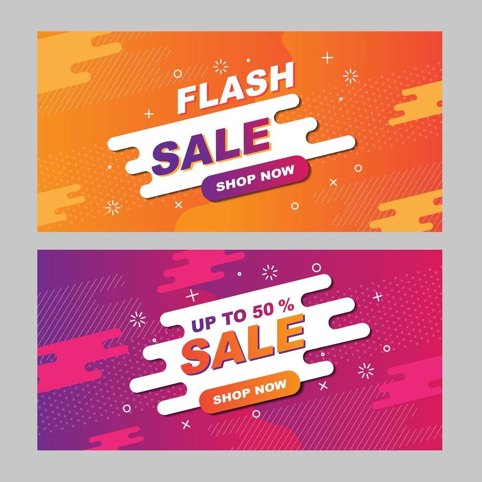 Super Sale Promotion Flyer vector