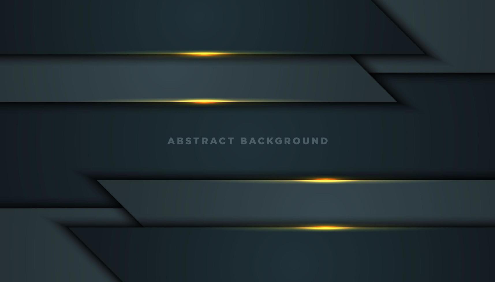 fondo gris con capas horizontales en la parte superior e inferior vector