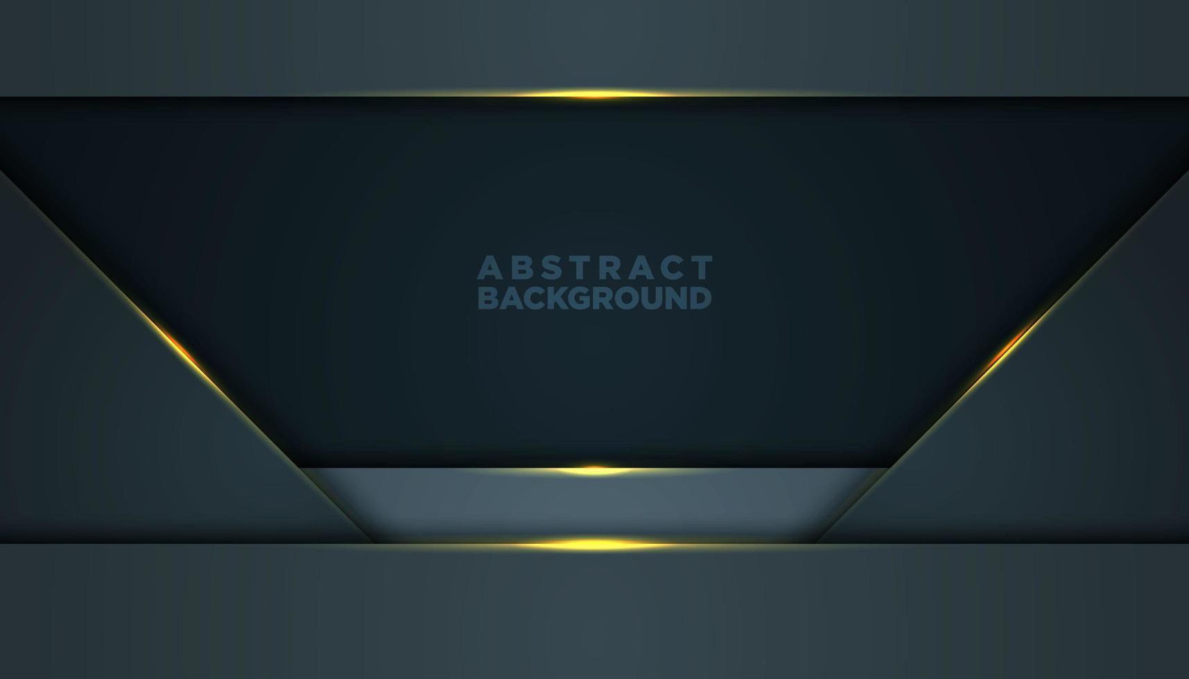Fondo abstracto gris con capas trapezoidales vector