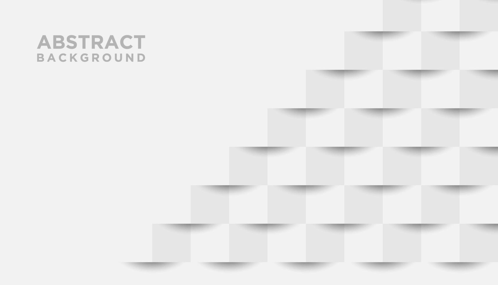 papel blanco cortado fondo 3d vector