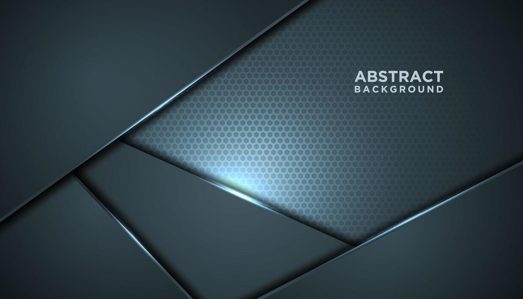 Fondo innovador de malla gris abstracto vector