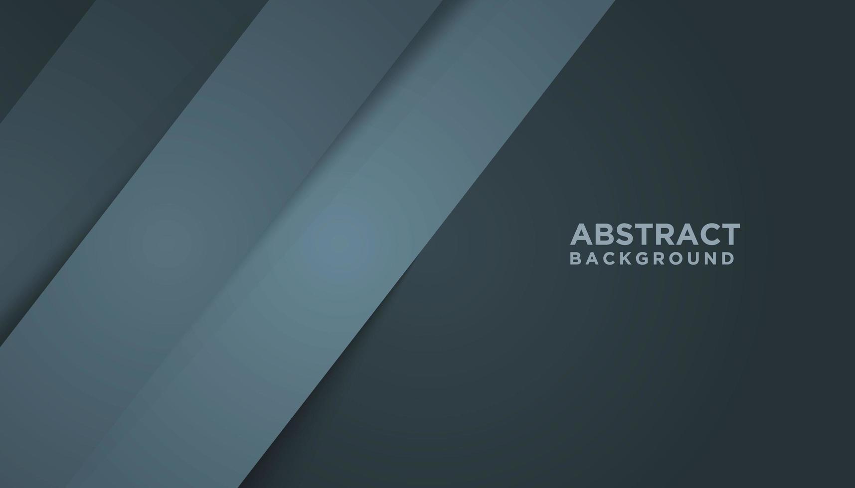 Fondo abstracto gris con capas azules grises vector