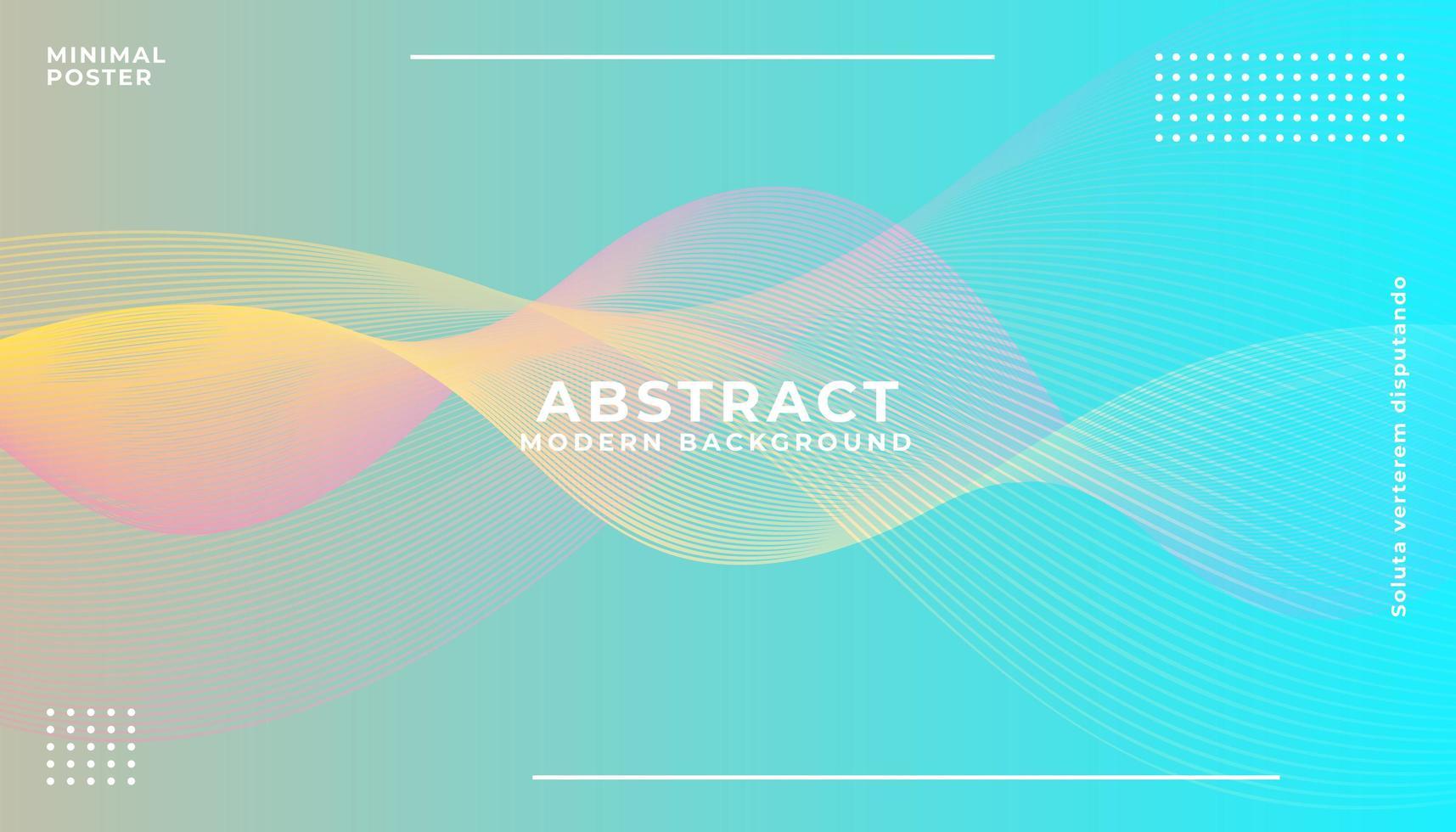 Fondo colorido abstracto en capas vector