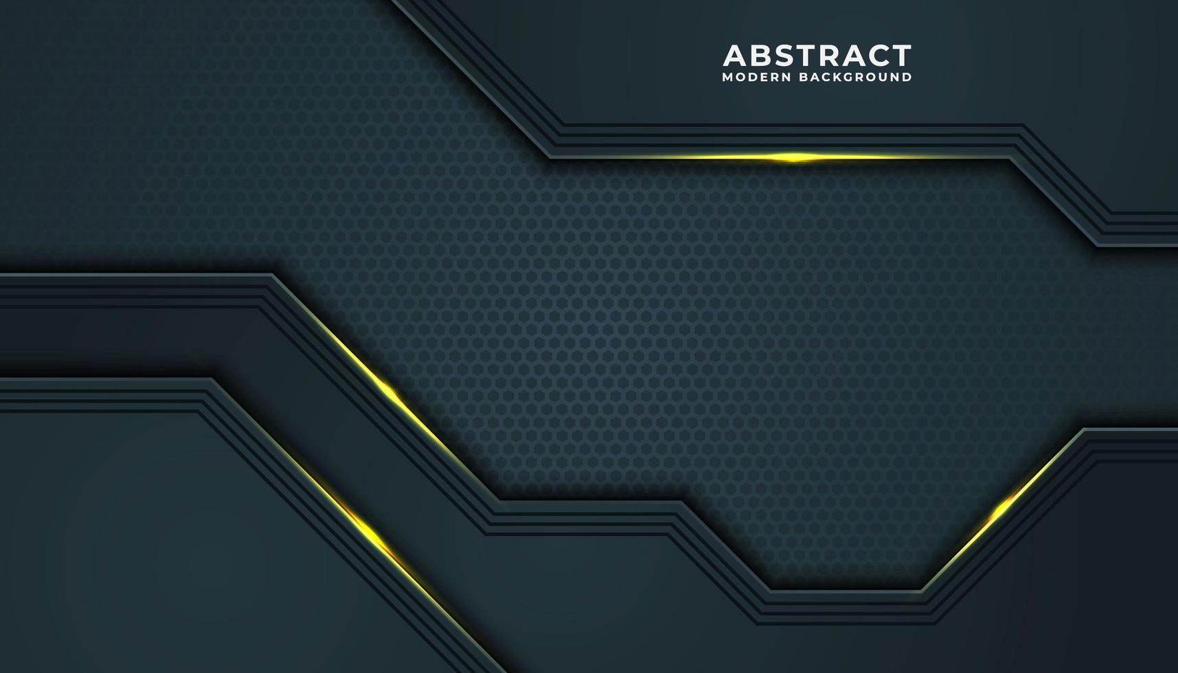 Fondo de efecto de textura de malla dorada y azul vector