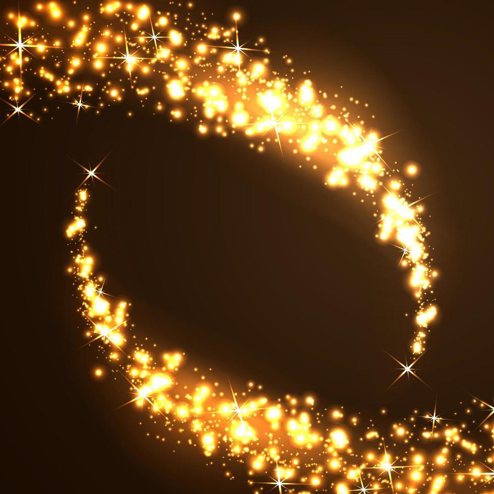 fundo de estrelas cadentes vetor
