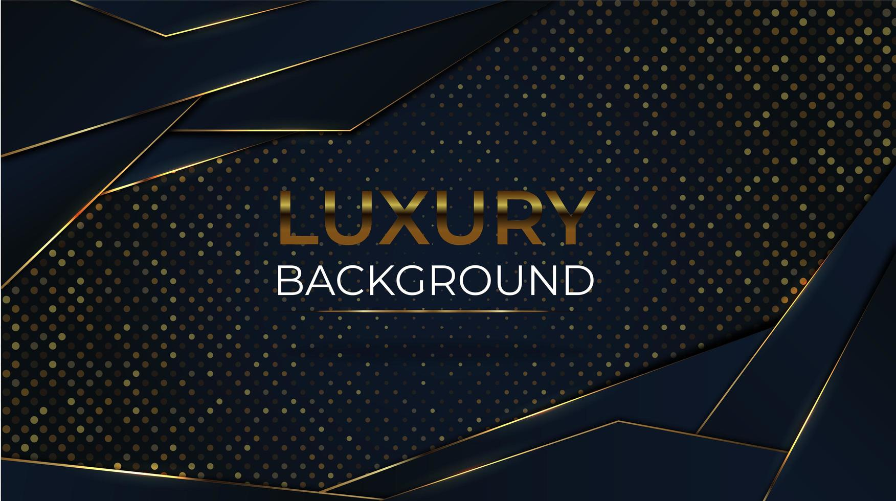 Angled Shape Luxury Background with Glitter vector