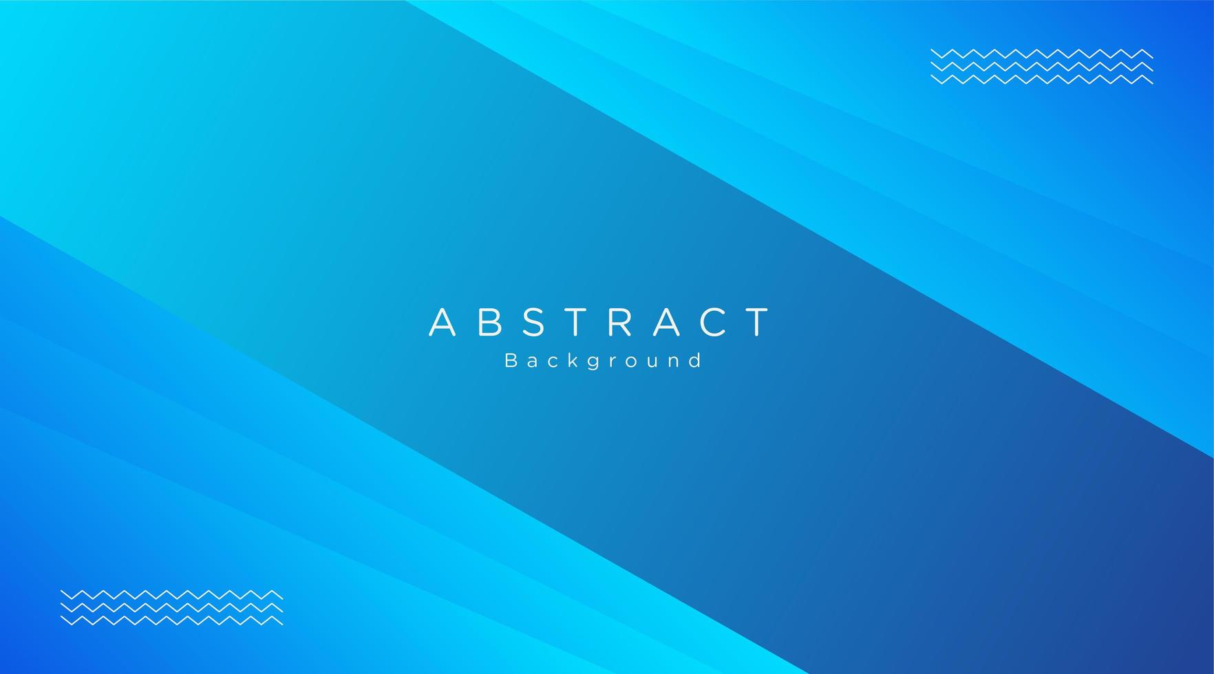 Blue Layered Angled Shape Background vector